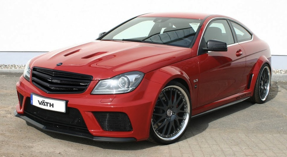 VATH Mercedes-Benz C63 AMG Coupe Black Series Front 3/4 View