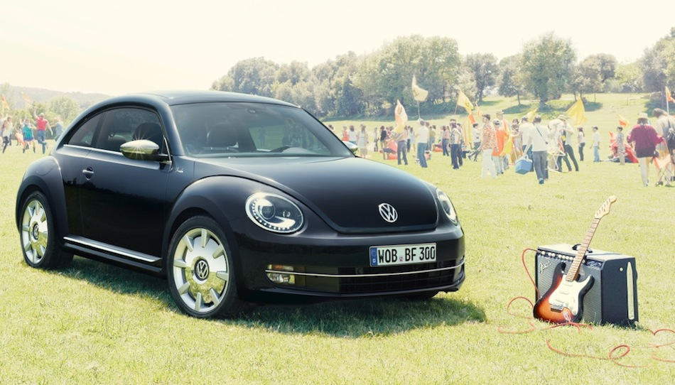 Volkswagen Beetle Fender Edition Front 3/4 View