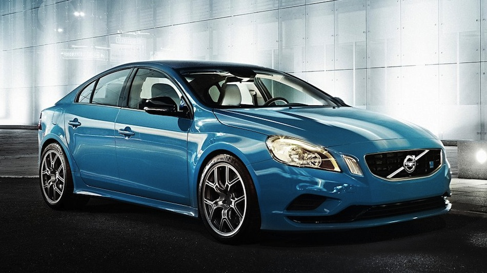 Volvo S60 Polestar Concept Front 3/4 View