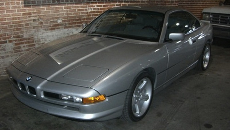 1990 BMW 850i Front 3/4 View Angle
