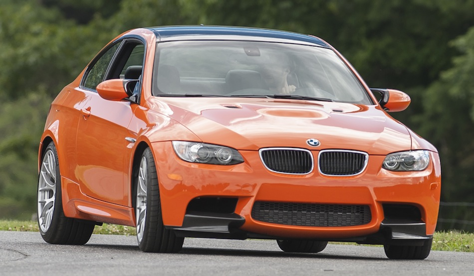 2013 BMW M3 Coupe Lime Rock Park Edition Front Action Shot