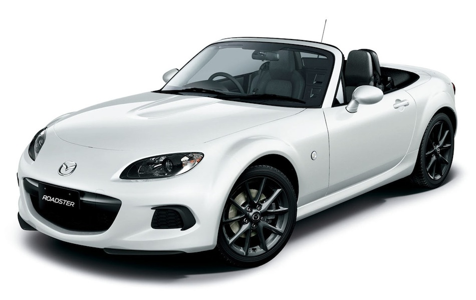 2013 Mazda MX-5 White Front