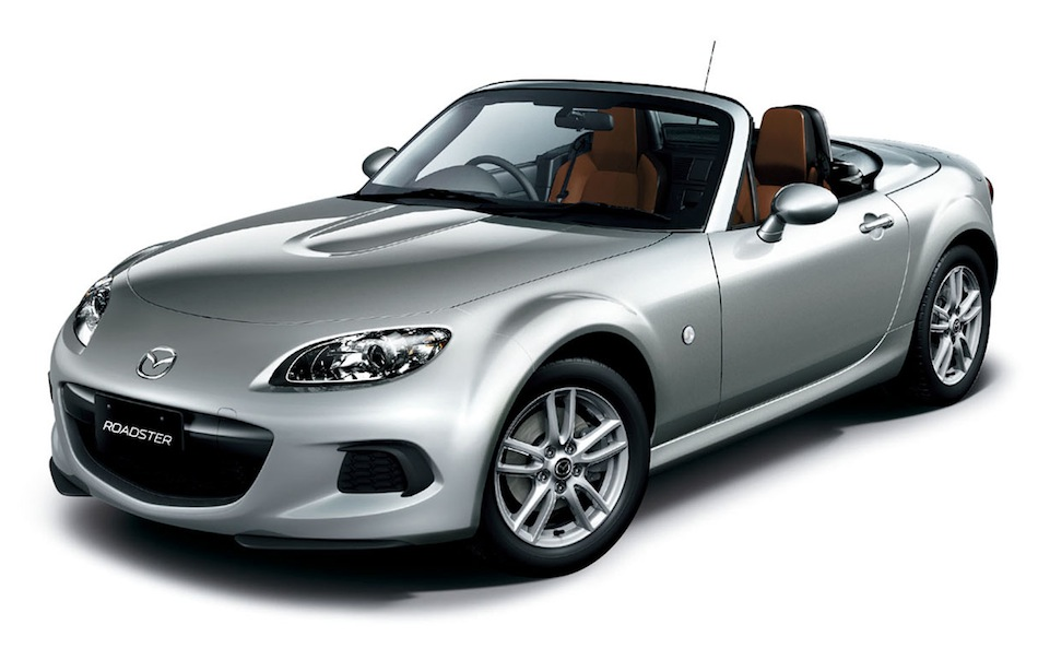 2013 Mazda MX-5 Silver Front View