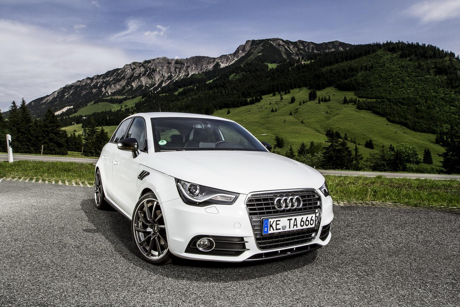 ABT Audi A1 Sportback Front 3/4 Angle
