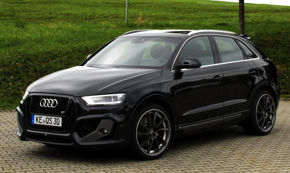 ABT Sportsline Audi QS3 Front 3/4 View