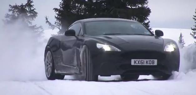 Aston Martin AM310 Vanquish Winter Testing