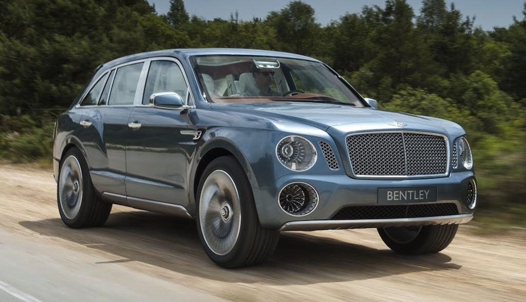 Bentley EXP 9 F Front 3/4 Action View