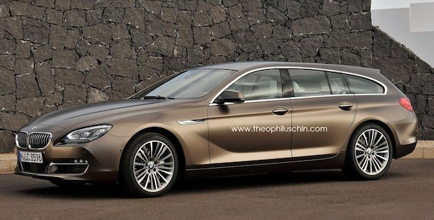 BMW 6-Series Gran Touring Rendering