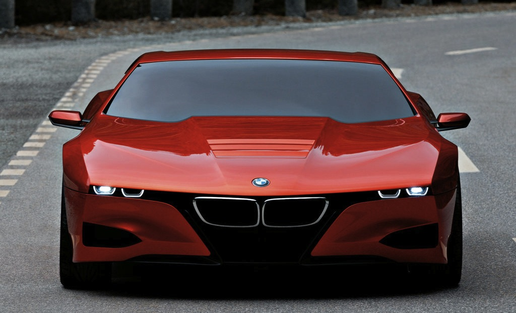 BMW M1 Hommage Concept Front View