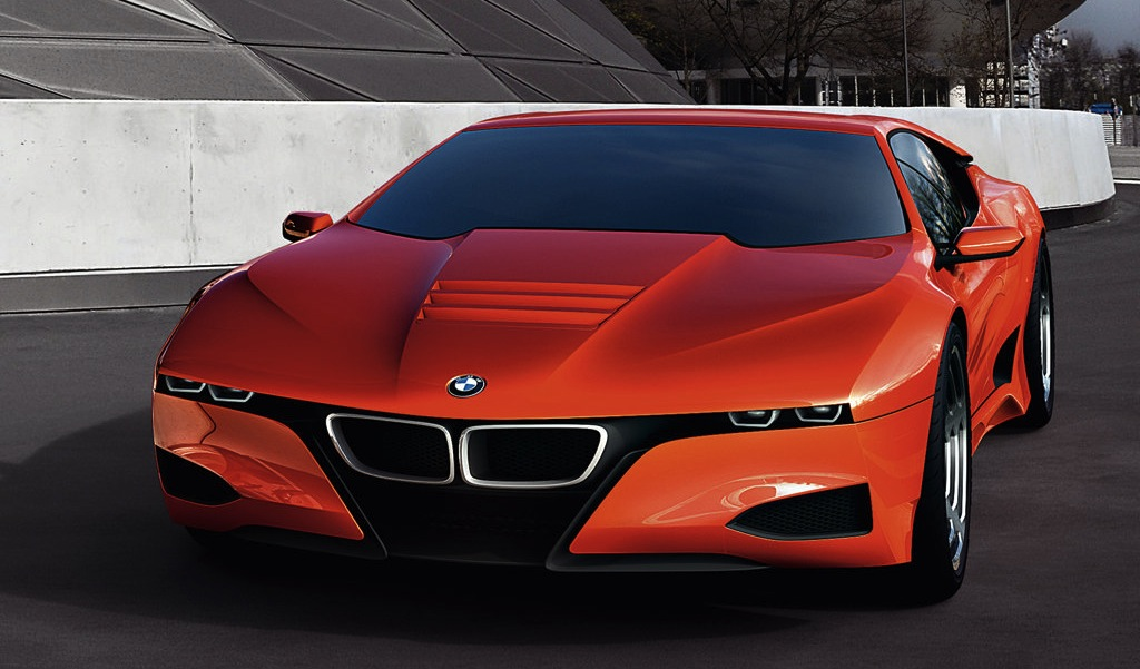 BMW M1 Hommage Concept Front Main