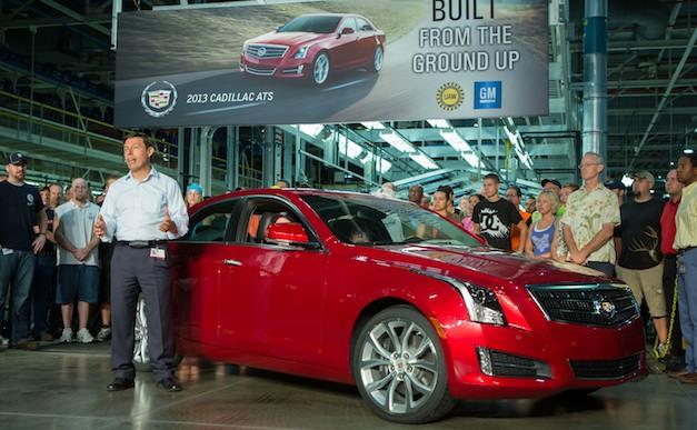 Cadillac ATS Production