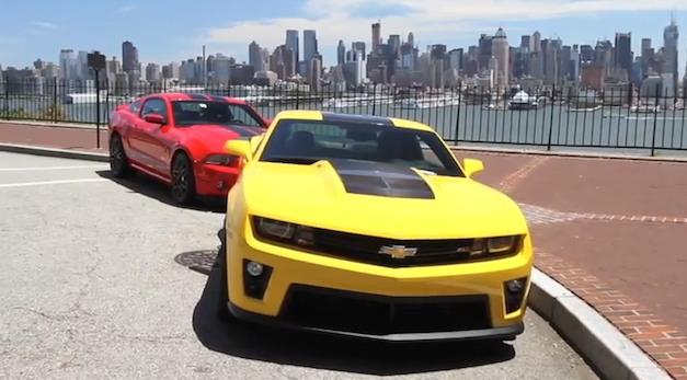 Chevrolet Camaro ZL1 vs Ford Shelby GT500