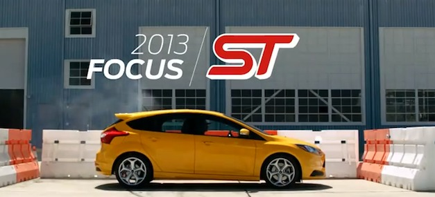Ford Focus ST Sessions