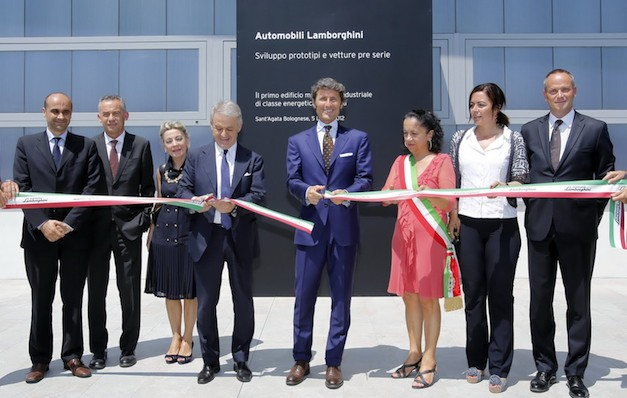 Lamborghini's New Facility