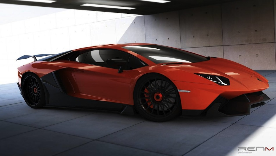 RENM Lamborghini Aventador Limited Edition Corsa Front Quarter View