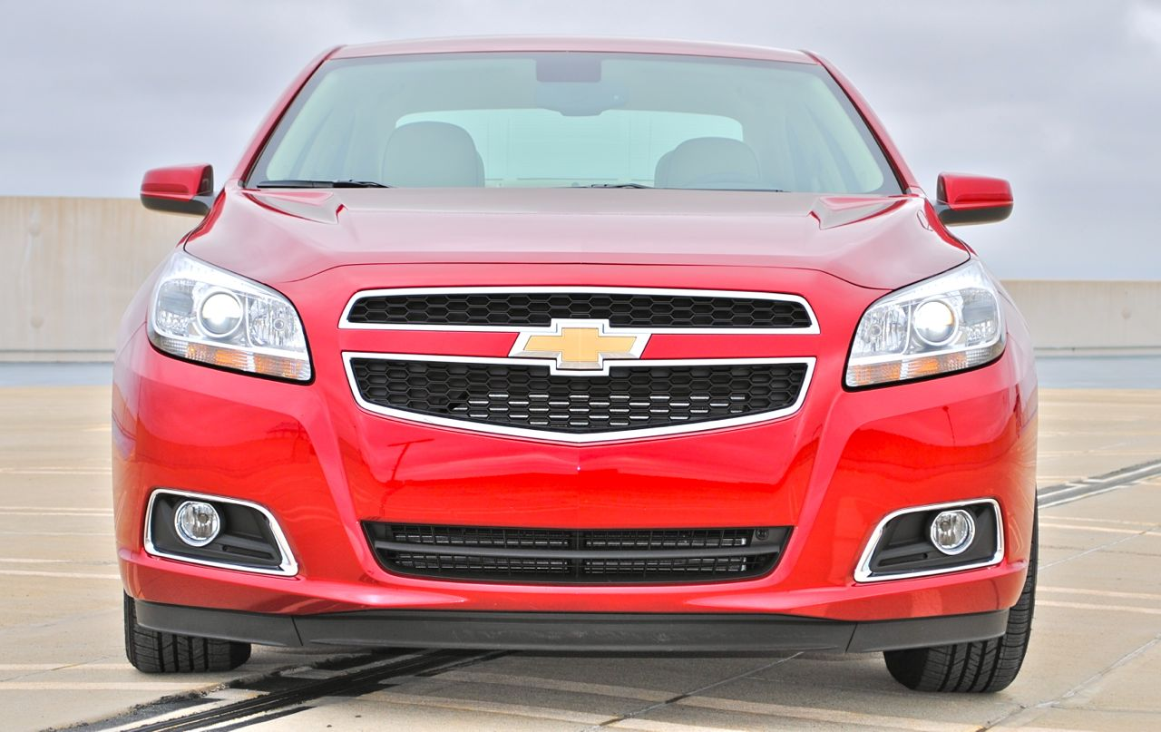 Review: 2013 Chevrolet Malibu Eco Front Shot