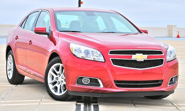 Review 2013 Chevrolet Malibu Eco Front