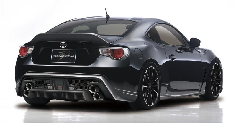 Wald International Toyota GT 86 Rear 3/4 View