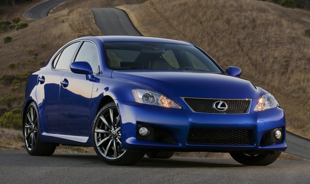 2011 Lexus IS-F Front 3/4 View