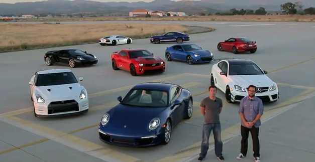 Motor Trend 2012 Best Driver's Car