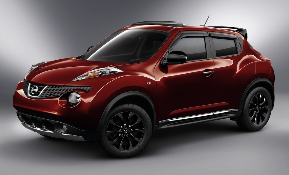 2013 Nissan JUKE Features New Midnight Edition Package Red