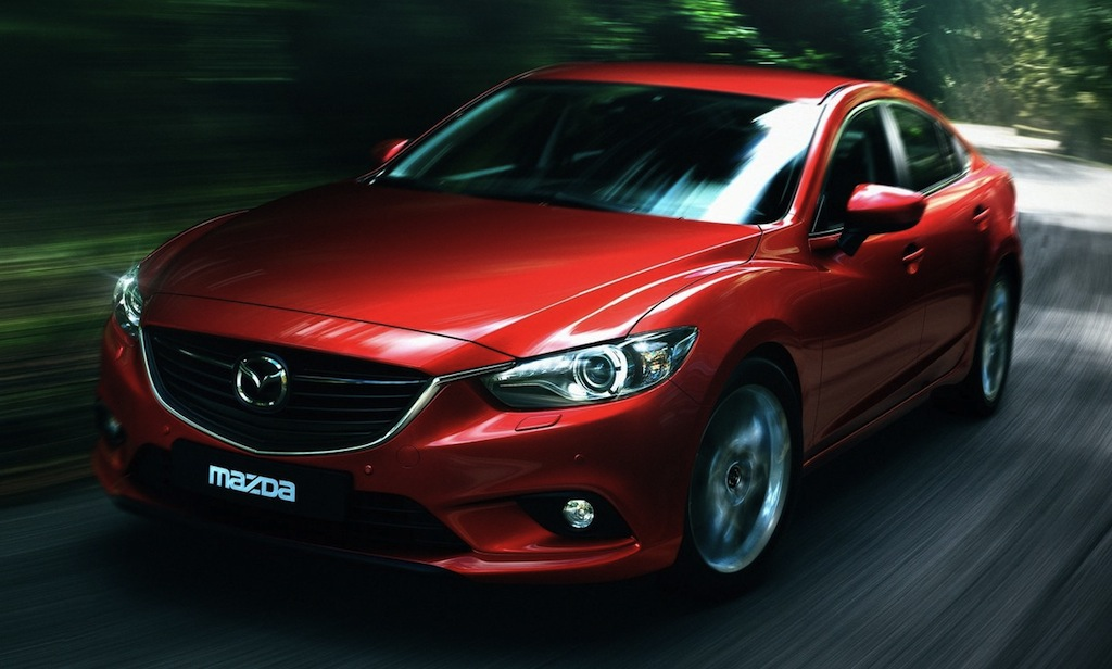 2014 Mazda6 Front 3/4 Action View