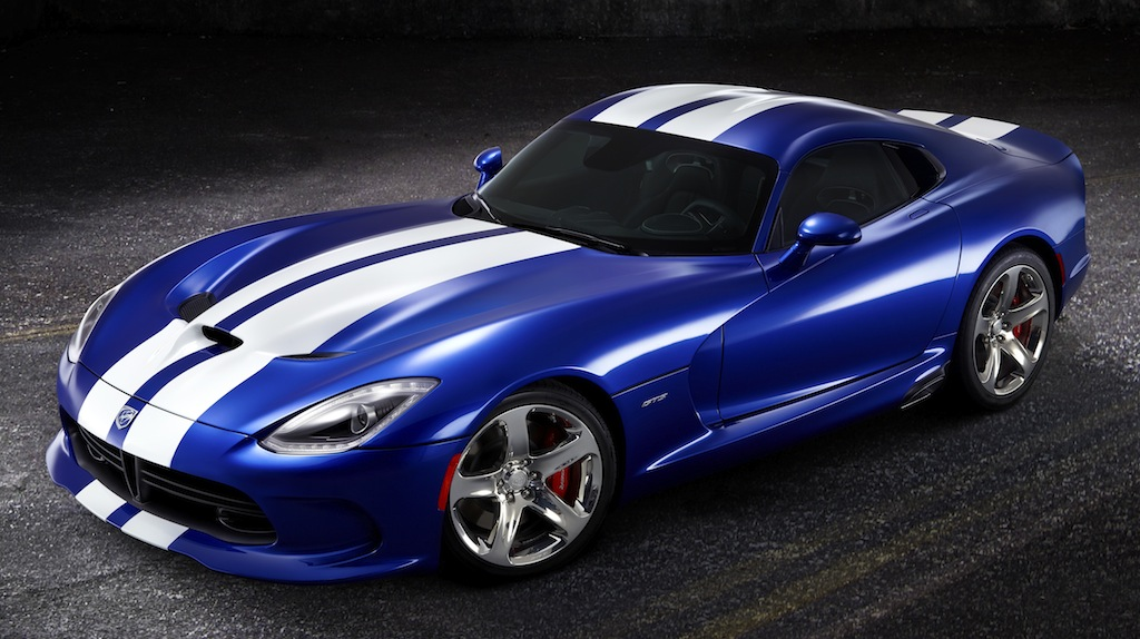 2013 SRT Viper GTS Launch Edition Front 7/8 View