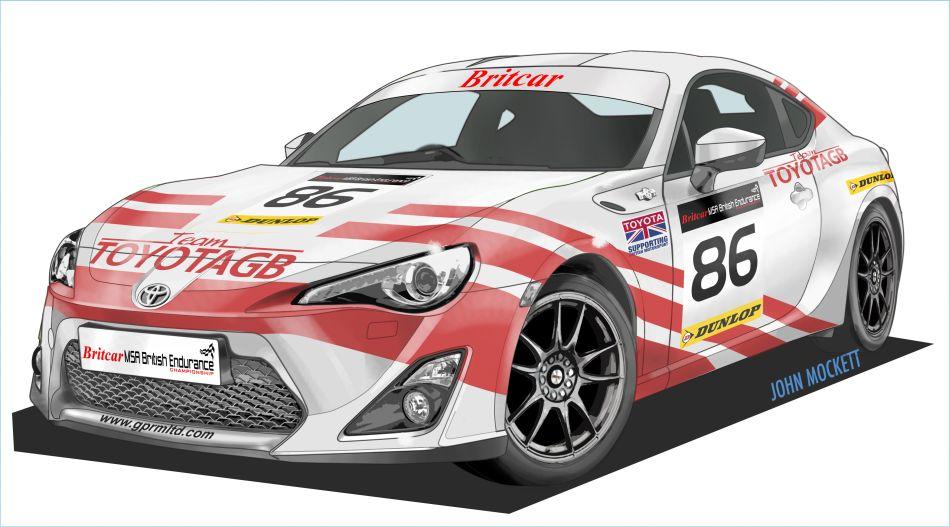 Toyota GT86 BTCC