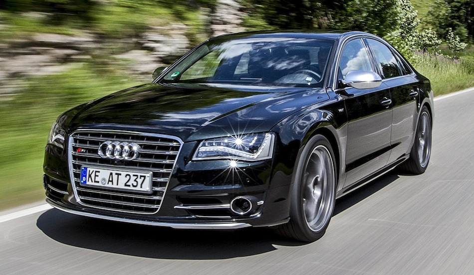 ABT Audi S8 Front 3/4 Action View