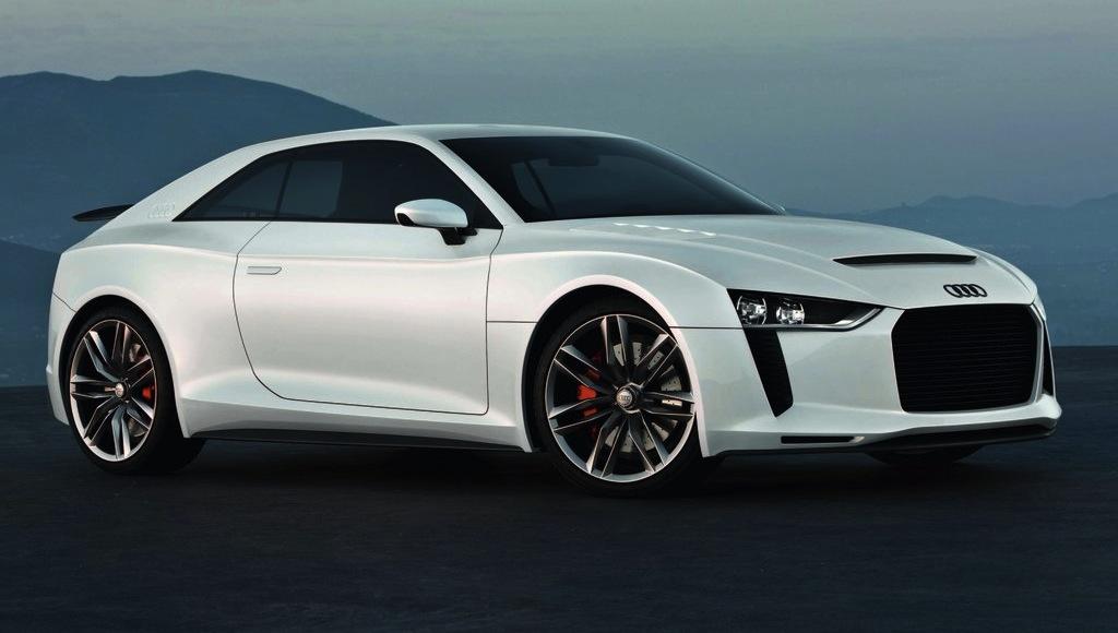 Audi Quattro Concept Front Quarter View