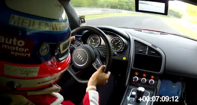 Audi R8 e-tron's Nurburgring lap
