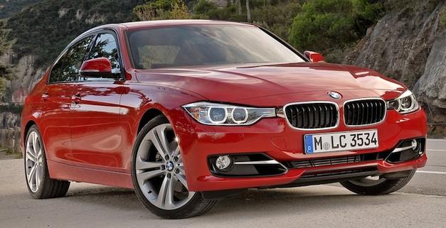 BMW 3 Series Angle