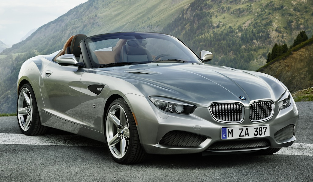 BMW Zagato Roadster Front Front 3/4 Angle Shot