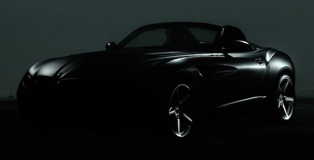 BMW Zagato Roadster Concept Teaser