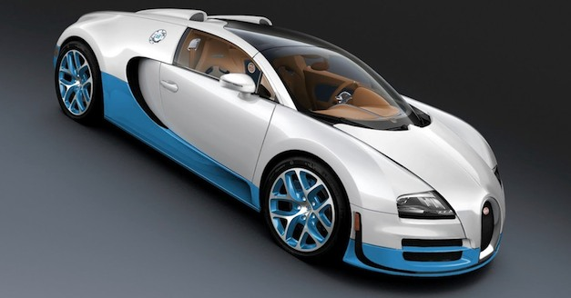 Special-edition Bugatti Veyron 16.4 Grand Sport Vitesse