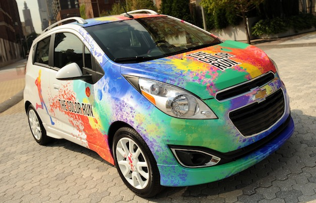 Chevrolet Spark Color Run