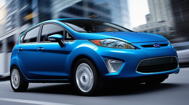 Ford Fiesta Blue