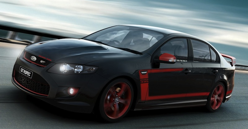 FPV GT RSPEC Front 7/8 Action Angle