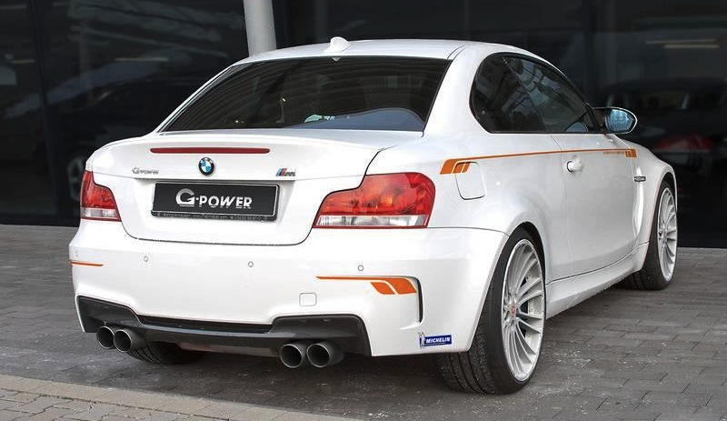 G-POWER BMW 1 Series M Coupe Rear 3/4 View