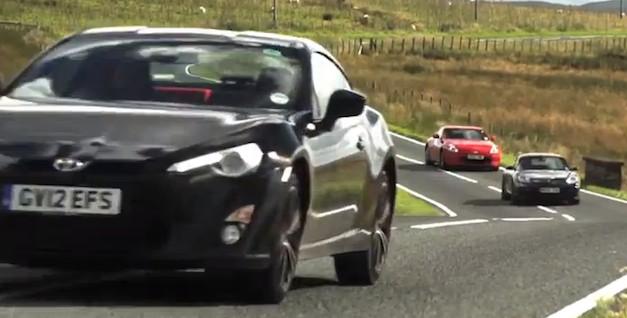 Scion FR-S / Toyota GT 86 vs Nissan 370Z, Porsche Cayman S