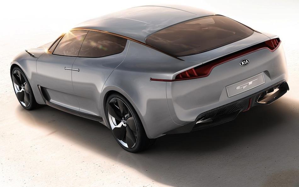 Kia GT Concept Rear Angle