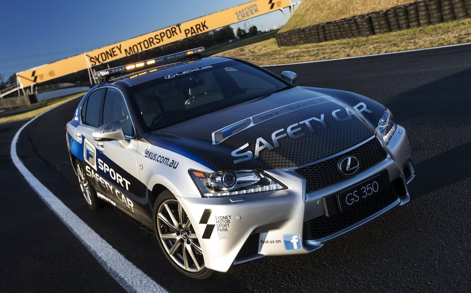 Lexus GS 350 F Sport Safety Car Front View