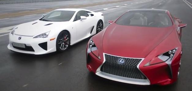 Lexus LFA vs LF-LC