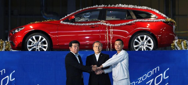 Mazda6 Production Launch