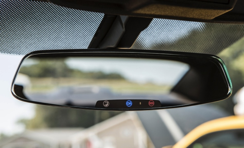 Frameless Camaro Mirror