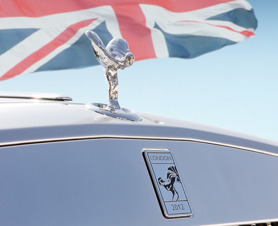 Rolls-Royce Phantom Series II Drophead Coupe 2012 London Badge