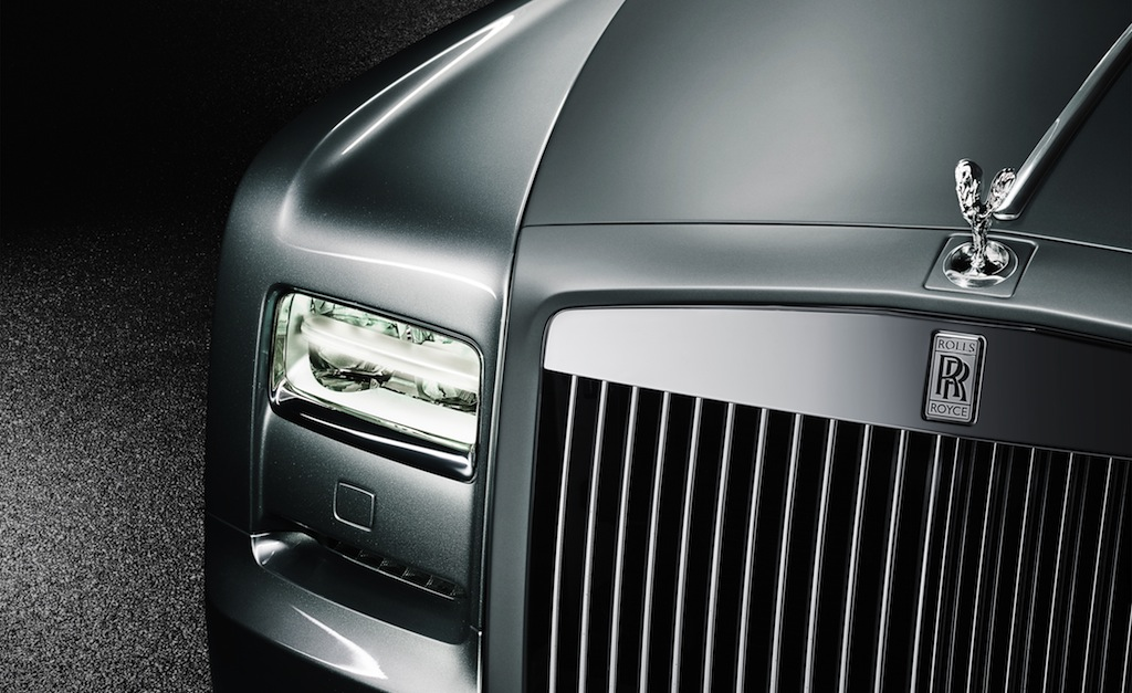 Rolls-Royce Phantom Coupe Aviation Collection Front Fascia