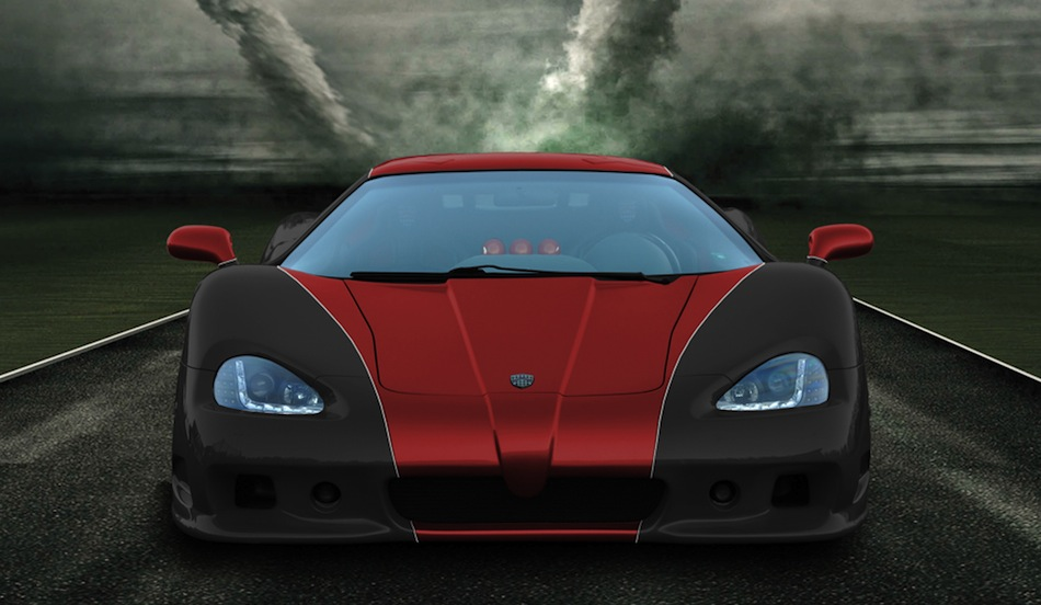 SSC Ultimate Aero XT Front View