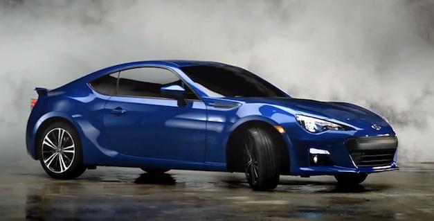 2013 Subaru BRZ scorched commercial