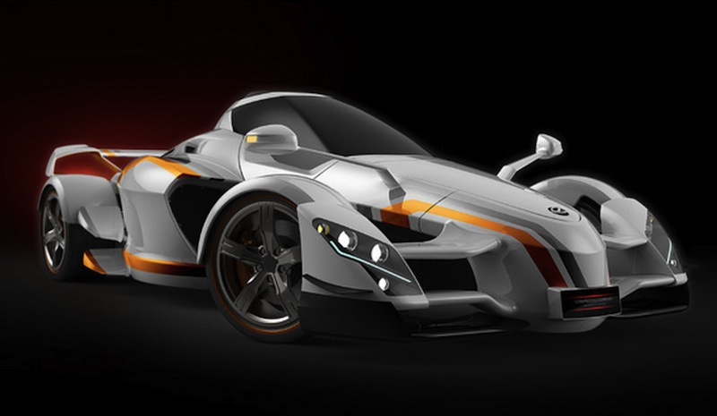 Tramontana XTR Sketch Front 7/8 View
